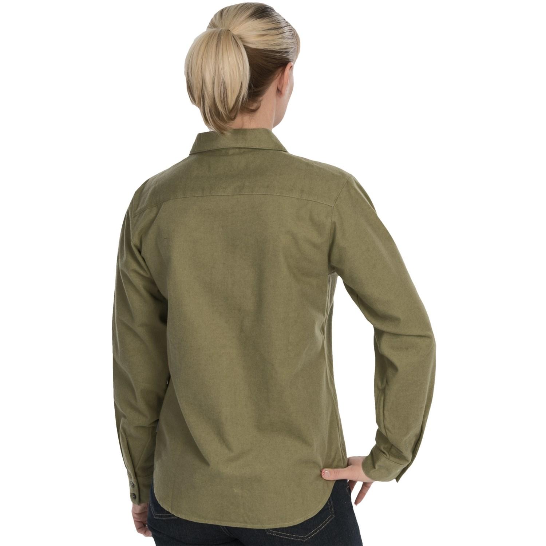 Woolrich Chamois Shirt (For Women) 6861C
