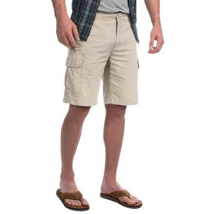 Woolrich Changing Lane 2 Cargo Shorts (For Men) in Stone - Closeouts
