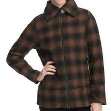 Woolrich Chatham Creek Plaid Jacket - Wool (For Women) in Bridle - Closeouts