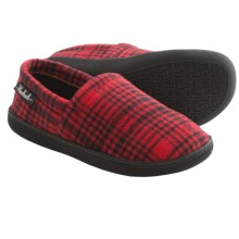 Woolrich Chatham Run Moccasin Slippers (For Men) in Red Buffalo Check - Closeouts