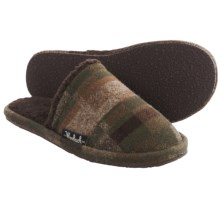 Woolrich Chatham Slide Wool Slippers (For Men) in Camo Wool - Closeouts