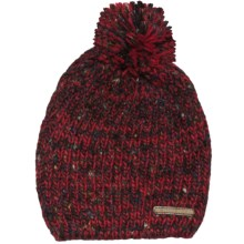 Woolrich Chunky Knit Beanie Hat (For Women) in Ruby - Closeouts