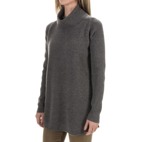 Woolrich Clapshaw Cowl Neck Tunic Sweater (For Women)