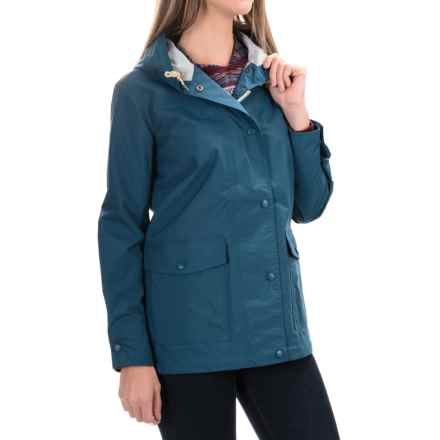 Woolrich Classic Rain Coat - Waterproof (For Women) in Atlantic - Closeouts