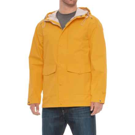 Woolrich Classic Rain Jacket - Waterproof, Hooded (For Men) in Ban - Banana - Closeouts