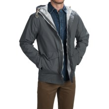 Woolrich Classic Rain Jacket - Waterproof, Hooded (For Men) in Charcoal - Closeouts