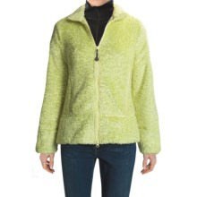 Woolrich Clear View Jacket - Polartec® ThermalPro® Curly Fleece (For Women) in Lt Aloe - Closeouts