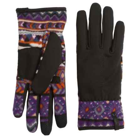 Woolrich Colwin Fleece Gloves - Touchscreen Compatible, Chenille Lined (For Women) in Wisteria - Closeouts