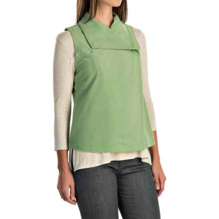 Woolrich Colwin Fleece Vest (For Women) in Pistachio - Closeouts