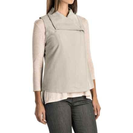 Woolrich Colwin Fleece Vest (For Women) in Silver Grey - Closeouts