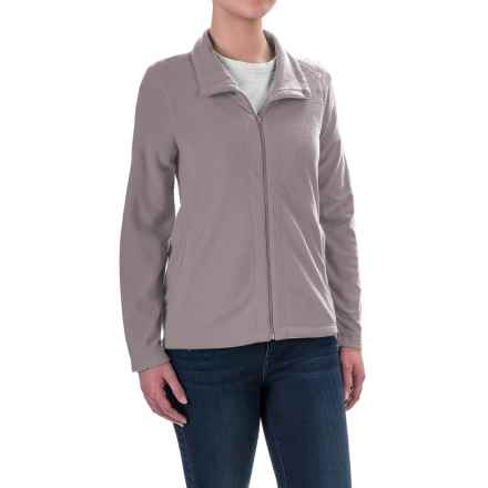 Woolrich Colwin Novelty Fleece Jacket - Zip Front (For Women) in Dusty Violet - Closeouts