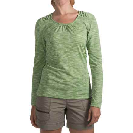 Woolrich Constellation Jersey Shirt - Scoop Neck, Long Sleeve (For Women) in Avocado - Closeouts