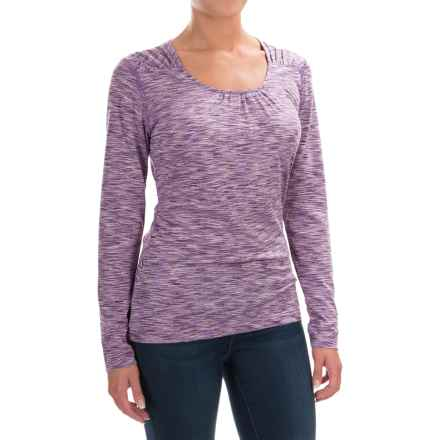 Woolrich Constellation Jersey Shirt - Scoop Neck, Long Sleeve (For Women) in Crocus - Closeouts