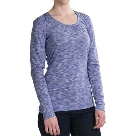 Woolrich Constellation Jersey Shirt - Scoop Neck, Long Sleeve (For Women) in Deep Sky - Closeouts