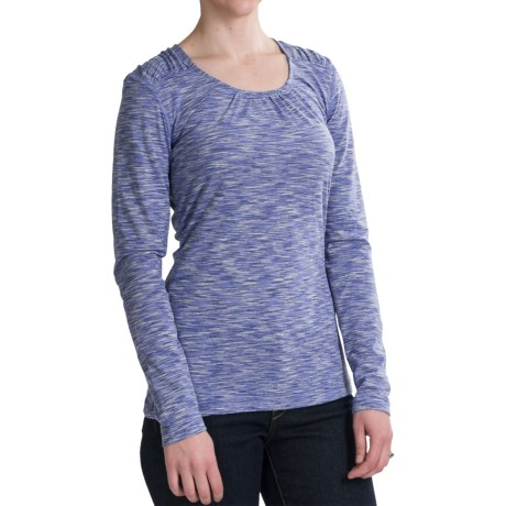 Woolrich Constellation Jersey Shirt - Scoop Neck, Long Sleeve (For Women)