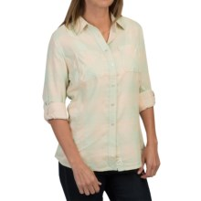 Woolrich Conundrum Shirt - Fully Lined, Long Sleeve (For Women) in Fresh Mint - Closeouts