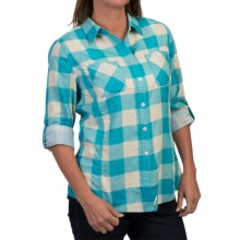Woolrich Conundrum Shirt - Fully Lined, Long Sleeve (For Women) in Parrot - Closeouts