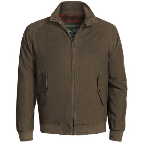 Woolrich Corduroy Yankton Jacket (For Men) in Dark Loden
