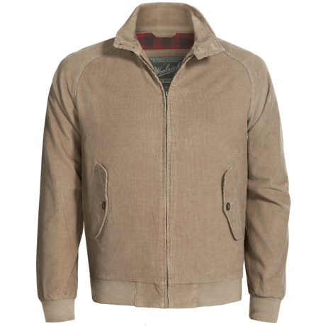 Woolrich Corduroy Yankton Jacket (For Men) in Khaki