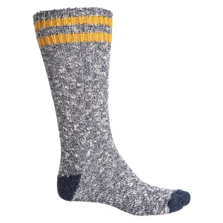 d09a50bdb91 Woolrich Cotton-Polyester Ragg Socks - Over the Calf (For Men) in Marine