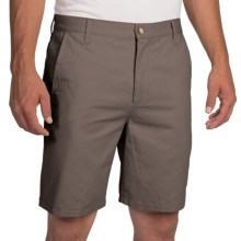 Woolrich Cotton Twill Field Shorts (For Men) in Fieldstone - Closeouts
