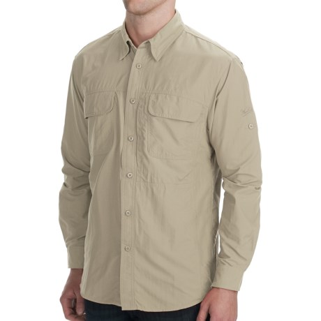 Woolrich Cross Country Tech Shirt - UPF 40+, Long Sleeve (For Men) in Copen