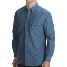 Woolrich Cross Country Tech Shirt - UPF 40+, Long Sleeve (For Men) in Copen - Closeouts
