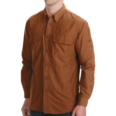Woolrich Cross Country Tech Shirt - UPF 40+, Long Sleeve (For Men) in Hazel