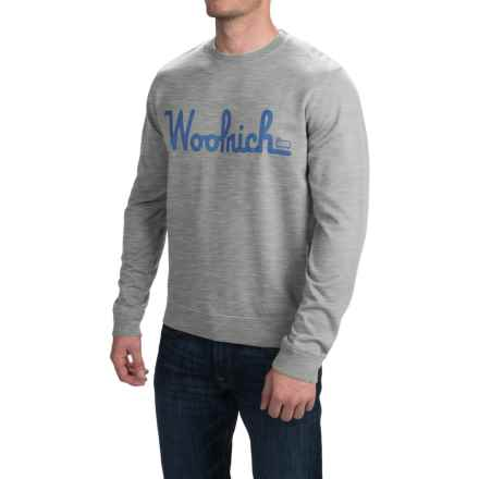 Woolrich Day Hiker Sweatshirt (For Men) in Gray Heather - Closeouts