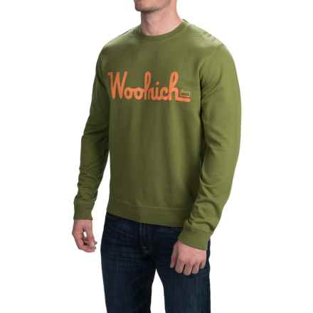 Woolrich Day Hiker Sweatshirt (For Men) in Pine Needle - Closeouts