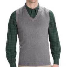 Woolrich Departure Sweater Vest (For Men) in Grey Heather - Closeouts