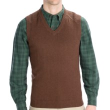 Woolrich Departure Sweater Vest (For Men) in Wood Heather - Closeouts