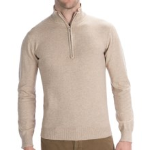 Woolrich Departure Sweater - Zip Neck, Long Sleeve (For Men) in Oatmeal Heather - Closeouts