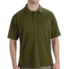 Woolrich Destination Polo Shirt - UPF 30+, Short Sleeve (For Men) in Pesto - Closeouts