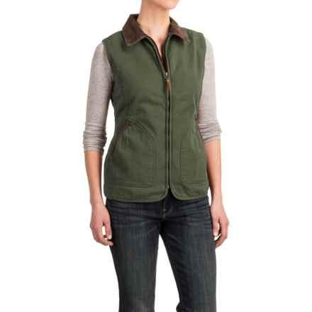 Woolrich Dorrington Barn Vest (For Women) in Oregano - Closeouts