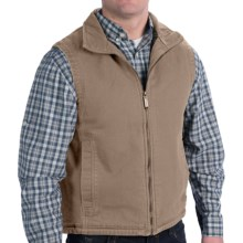 Woolrich Dorrington Vest (For Men) in Dark Wheat - Closeouts