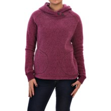 Woolrich Double Creek Fleece Hoodie (For Women) in Berry - Closeouts