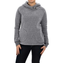 Woolrich Double Creek Fleece Hoodie (For Women) in Gray - Closeouts