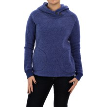 Woolrich Double Creek Fleece Hoodie (For Women) in Navy - Closeouts