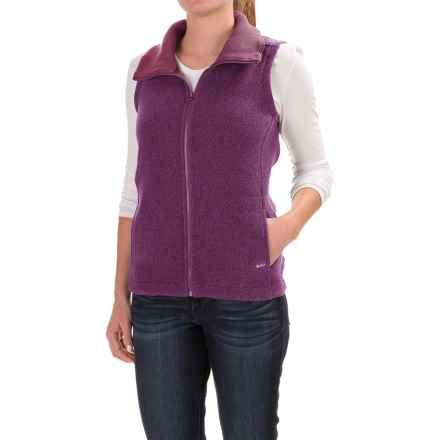 Woolrich Double Creek Sweater-Fleece Vest (For Women) in Wisteria - Closeouts