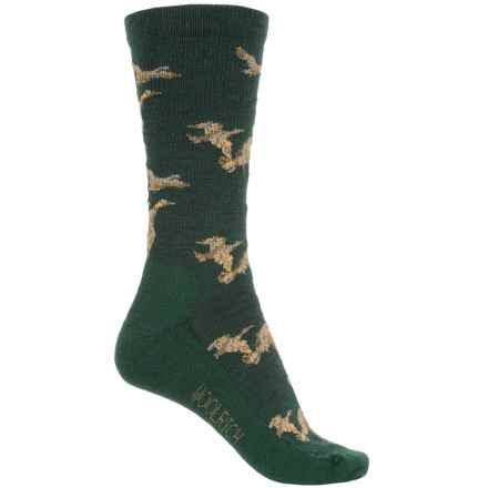 Woolrich Duck Socks - Merino Wool, Crew (For Men) in Pine Grove - Overstock