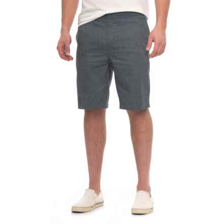 Woolrich Eco Rich Hemp Shorts (For Men) in Charcoal - Closeouts