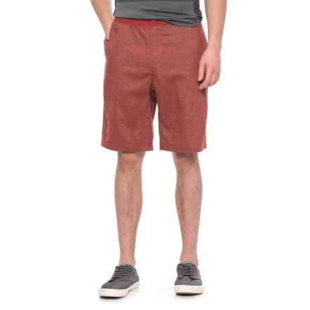 Woolrich Eco Rich Hemp Shorts - UPF 50 (For Men) in Brick Red - Overstock