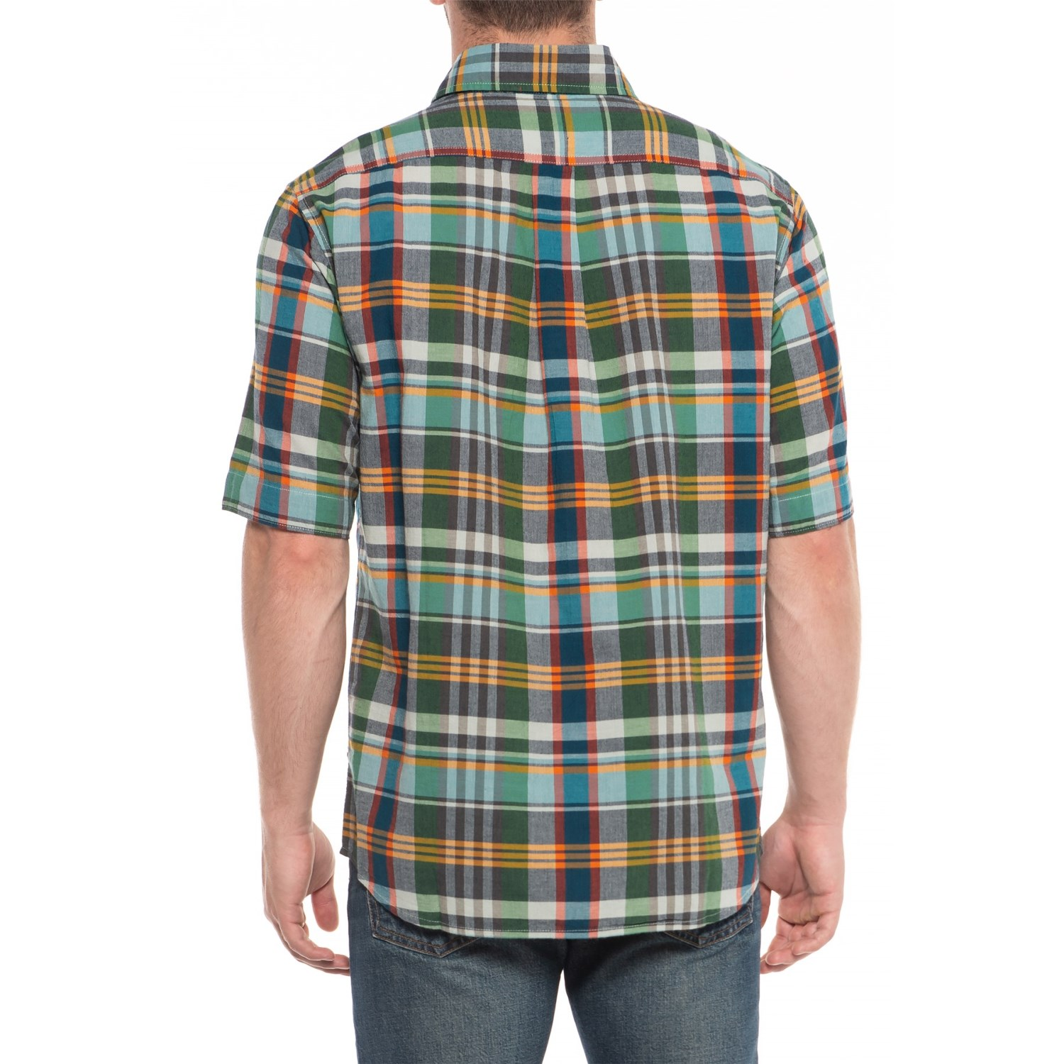 cd86d1fc3ae55c Woolrich Eco Rich Timberline Shirt - Organic Cotton, Short Sleeve (For Men)