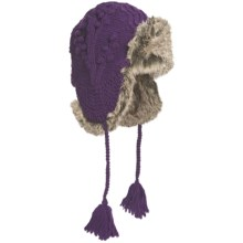 Woolrich Edelweiss Alpine Hat - Wool, Faux-Fur Trim (For Women) in Purple - Closeouts