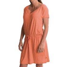 Woolrich Elemental Knit Dress - Short Sleeve (For Women) in Guava - Closeouts