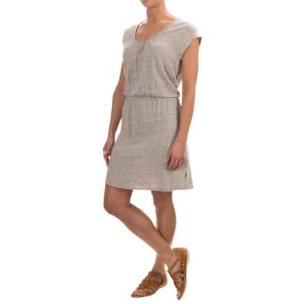 Woolrich Elemental Printed Knit Dress - Short Sleeve (For Women) in Canyon Geo - Closeouts