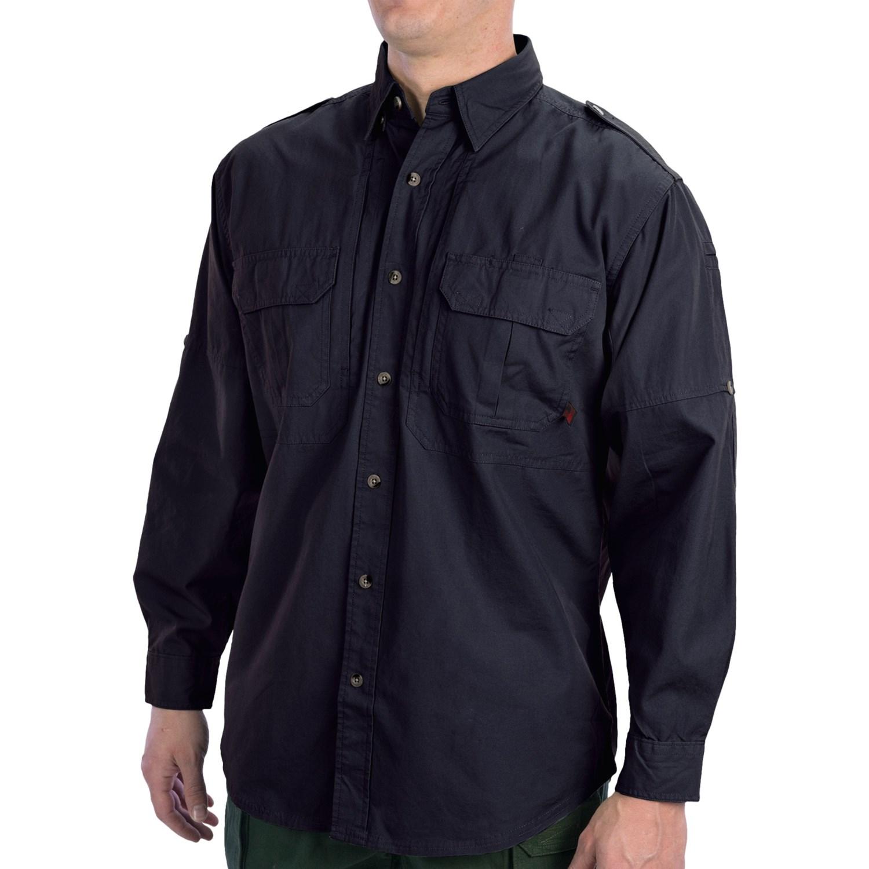 Woolrich Elite Button Up Shirt Upf 30 Long Sleeve For Men