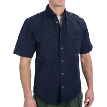 Woolrich Elite Button-Up Shirt - UPF 30, Short Sleeve (For Men) in Navy - Closeouts