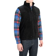 Woolrich Elite Tactical Fleece Vest (For Men) in Black - Closeouts
